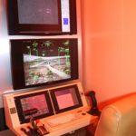 A kiállítás egyik érdekessége egy katonai felhasználású professzionális drón földi irányítóközpontja.