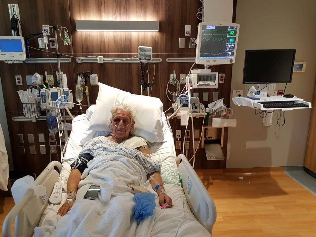 A műtét utáni napon